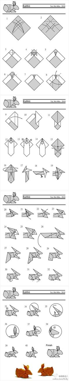 origami step by step - Google Search