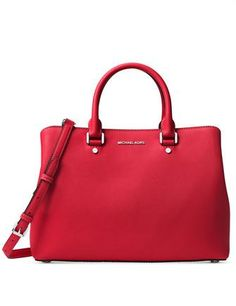 2aef88cab2988d NEW Authentic Michael Kors Casey Large Leather Satchel Bag ~Lawn ...