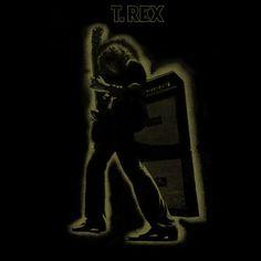 T. Rex 'Electric Warrior' Album Cover
