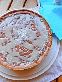 Cheesecake cioccolato e cocco senza cottura - No bake coconut and chocolate cheesecake  http://blog.giallozafferano.it/rossoduovo/cheesecake-cioccolato-e-cocco-senza-cottura/