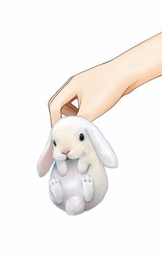 Fan Art of ♫Bunnies♪ for fans of Bunny Rabbits. Bunny Drawing, Bunny Art, Cute Bunny, Kawaii Bunny, Bunny Bunny, Illustration Mignonne, Cute Illustration, Cute Animal Drawings, Cute Drawings