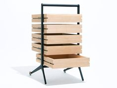 To know more about Keiji Ashizawa Design bon drawer, visit Sumally, a social network that gathers together all the wanted things in the world! Featuring over 19 other Keiji Ashizawa Design items too! Industrial Design Furniture, Industrial Interiors, Wood Furniture, Furniture Design, Room Interior, Shelving, Bookcase, Contemporary, Inspiration