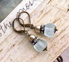 Subtle elegance.romanticrhinestonepearl simple by tiedupmemories, $16.50