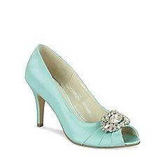 Pink by Paradox London - Tender peep toe with trim...something blue..?