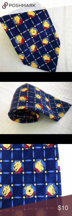 Winnie The Pooh Disney Men's Necktie Winnie The Pooh Disney by Exquisite Apparel Men's Necktie Tie Accessories Ties