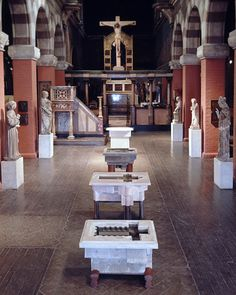 Nicholas Kripal - Fleisher Sanctuary Fonts Installation