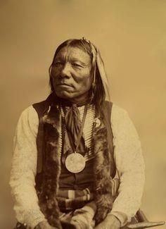 An old photograph of Little Bear - Cheyenne Nov 1891 [B].