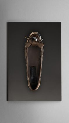 Just can't get enough…   Bow Front Check Ballerinas - Burberry