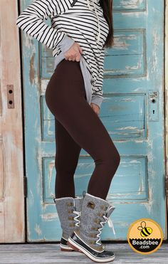 It's almost Winter and you are on the lookout for comfort and style. With our tummy control fleece lined leggings you are going to win on both! Super comfortable to mix and match your tunics and cardigans with all while keeping our 'soft spots' in one place. You can't go wrong with a pair or two of these in your wardrobe and with them being a one size fits most (0-12 comfortably), they are sure to be a hit in your closet!One Size Fits Most (0-12 Comfortably)
