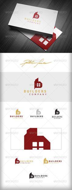 Letter B Real Estate Builders - Logo Design Template Vector #logotype Download it here: http://graphicriver.net/item/letter-b-logo-real-estate-logo-builders-logo/5841280?s_rank=1344?ref=nesto