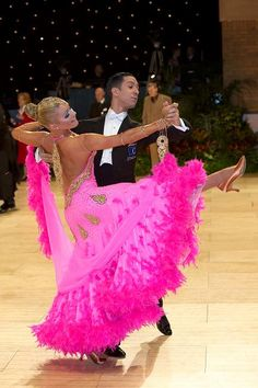 World Class Dancers: Tania Kehlet (Denmark) and Emanuel Valeri (Italy) - they are currently European Champions in Standard Dances and have also been World Champions