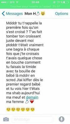 20 Sms Damour Pour Elle Sms Amour Sms Romantique Et
