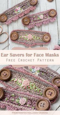Crochet Mask, Crochet Faces, Free Crochet, Knit Crochet, Crochet Flower, Crochet Crafts, Crochet Projects, Crochet Stitches, Crochet Patterns