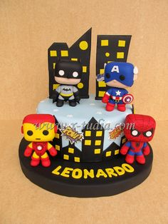 Iron Man Cakes Los Angeles