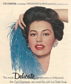 1950s LUX BEAUTY SOAP Print Ad Original by ACMEVintageLimited #retro #advertising #vintage #ephemera #lux #cydcharisse