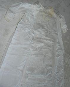 Vintage Infant Christening Gown Circa 1940s by MonyasAttique, $65.00