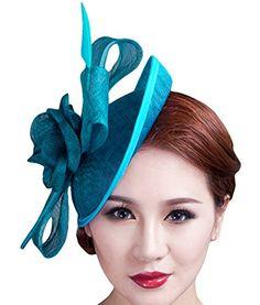 Cocktail Pillbox Hat Fascinator Hair Clip Bridal Headwear for Women Aniwon http://smile.amazon.com/dp/B018LB2KBG/ref=cm_sw_r_pi_dp_mccaxb0Y45D8Y