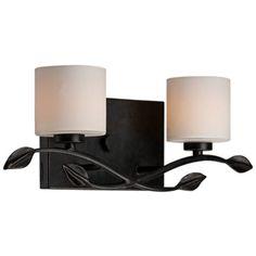 "Quoizel Erin 17"" Wide LED Imperial Bronze Bath Light - Style # W0732  $199 Lamps Plus"
