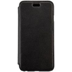 Husa de protectie A+ Folio Stand pentru Iphone 6, Piele, Black - eMAG.ro