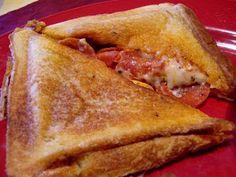 Pudgy Pie Pizza Sandwich