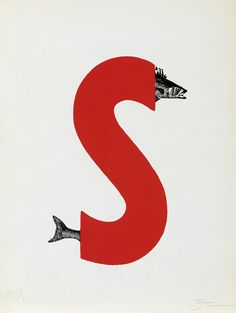 Joan Brossa is one of the most prominent entities in visual poetry of modern art Typography Images, Typography Letters, Graphic Design Typography, Graphic Prints, Poema Visual, Childrens Alphabet, Beautiful Lettering, Letters And Numbers, Design Reference