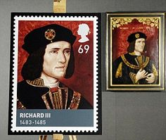 Richard III Stamp