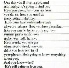 Love this...