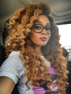 Hair is stunning