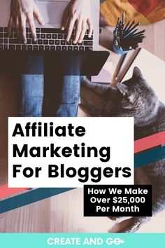 Affiliate marketing is one of the best ways for bloggers to start making money. If you're a beginner, or even if you're just looking to improve your affiliate marketing game, you need to check out how we use affiliate marketing to make over $25,000 per month consistently! #createandgo #affiliatemarketing #blog #makemoneyblogging #marketingforbloggers Email Marketing Services, Affiliate Marketing, Make Money On Amazon, How To Make Money, Make Blog, How To Start A Blog, Own Your Own Business, Job Interview Tips, Successful Online Businesses