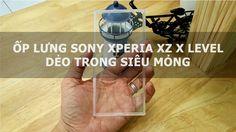 Ốp lưng Sony Xperia XZ X Level dẻo trong siêu mỏng - Đồ Chơi Di Động .com