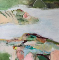 Mountain River, acrylic on Cotton Duck canvas. Size : 61cm x 61cm Free local Melbourne delivery or pick up. For interstate delivery there will be a...