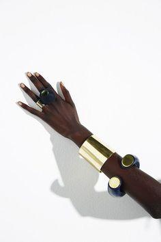 ColourBlock 2016 - Brass Cuff