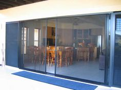 Bi-fold and French door insect screens by National Screens