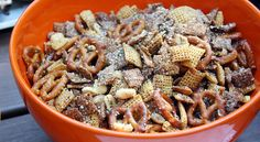herb chex mix.