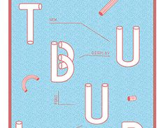Tubular display font http://on.be.net/1JVrUnH