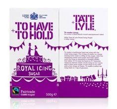 Tate & Lyle Royal Icing, by Design Bridge