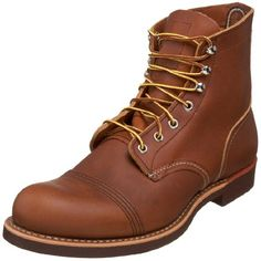 """Red Wing Men's 8112 6"""" Iron Ranger Boot,Oro Russet,12 D US Red Wing Shoes http://www.amazon.com/dp/B002YTL0QS/ref=cm_sw_r_pi_dp_4h8Lwb11A6WFP"""