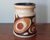 Lapid Pottery Israel Mid Century Design Vase or Jar