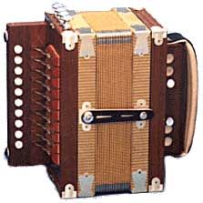 "The diatonic acccordian was designated the official musical instrument of Louisiana in 1990. The diatonic accordion (also called a ""squeeze box"" or a ""Cajun accordion"") arrived in Louisiana from Germany in the mid to late 1890's and by the early 1900's had become a key element in Cajun music."