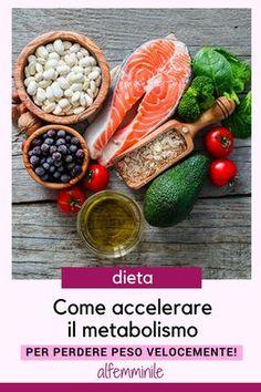 Come accelerare il metabolismo e perdere peso velocemente! #metabolismo #alimenti #cibosano #perderepeso #dimagrire