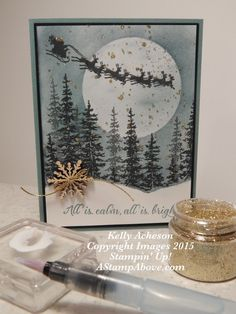 Splatter Technique Card 2 by Technique_Freak - Cards and Paper Crafts at Splitcoaststampers