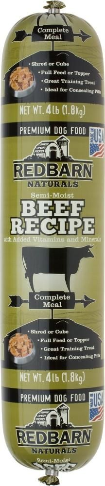 Redbarn Beef Recipe Dog Food Roll - 2.2-lb