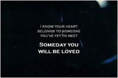 Someday You will be Loved ~ Death Cab for Cutie