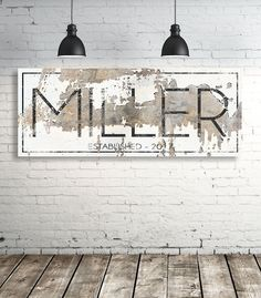 Vintage Farmhouse Decor Modern Last Name Sign - Personalized Family Name Wall Art - Modern Farmhouse Wall Art - Est Name Sign - Wedding Gift Farmhouse Wall Art, Modern Farmhouse, Farmhouse Decor, Vintage Farmhouse, Rustic Cottage, Farmhouse Design, Modern Rustic, Table Farmhouse, American Farmhouse