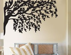 Tree Branch Large Vinyl Wall Art Decor Decal  (WD-075)      From dinaamon