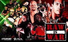 WWE Wallpaper: WWF Monday night Raw