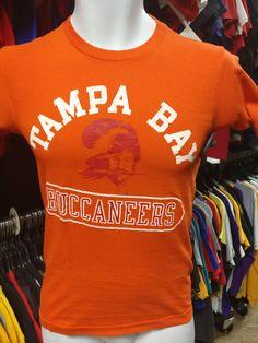 Vintage 70s TAMPA BAY BUCCANEERS NFL T-Shirt XS