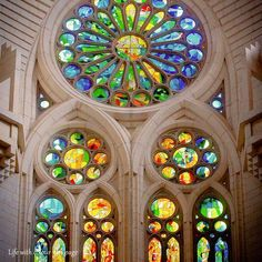 Stained glass masterpiece