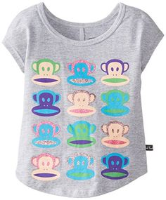 Paul Frank Little Girls' Neon Julius Dolman Sleeve Tee, Grey Heather, 2T Paul Frank http://www.amazon.com/dp/B00KA88AE0/ref=cm_sw_r_pi_dp_1dvqub1DR8274
