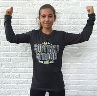 Softball, Soccer, Lacrosse, Volleyball & Basketball Apparel & Accessories for girls. Girls Softball, Lacrosse, Girls Accessories, Long Sleeve Tops, Graphic Tees, Strong, Mens Tops, T Shirt, Shopping
